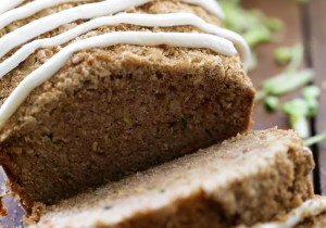 Zucchini Bread from chef-in-training.com …This recipe is so moist and the crumb topping and Buttercream frosting really blow it out of the park!