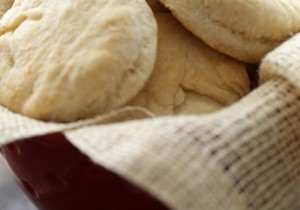 Homemade Biscuits from chef-in-training.com …This recipe is SO easy and so delicious! Definitely a keeper!