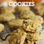 Pumpkin Chocolate Chip Cookies!  One of my absolute favorite cookies and perfect for fall! #recipe #cookie #pumpkin