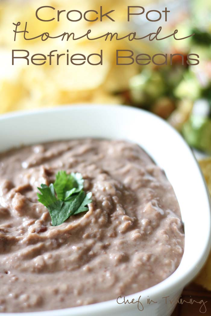 Mom S Homemade Refried Beans Chef In Training