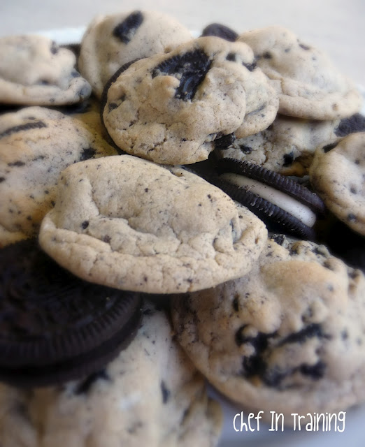 Oreo Pudding Cookies from chef-in-training.com ...Soft, chewy and delicious cookies! #recipe #cookie