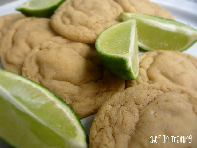Coconut Lime Pudding Cookies from chef-in-training.com #recipe #cookie
