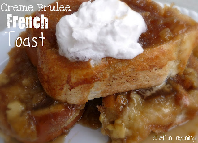 Overnight Creme Brûlée French Toast … this is such a DELICIOUS recipe!