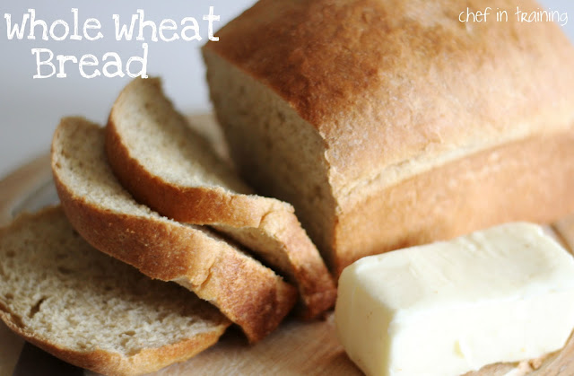 Whole Wheat Bread from chef-in-training.com …Supposedly one of the best whole wheat bread recipes out there! I need to try this recipe out!