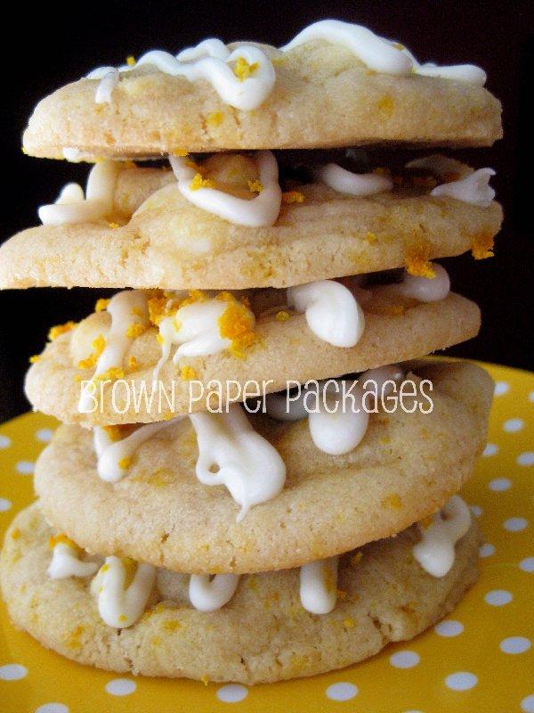 Citrus White Chocolate Cookies | Chef in Training