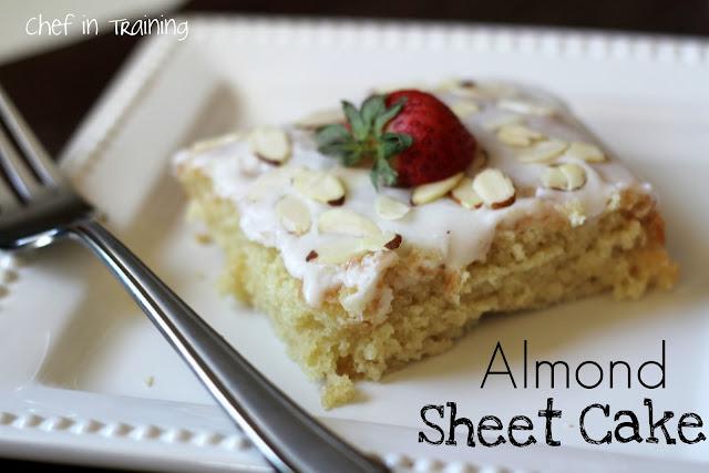 Almond Sheet Cake