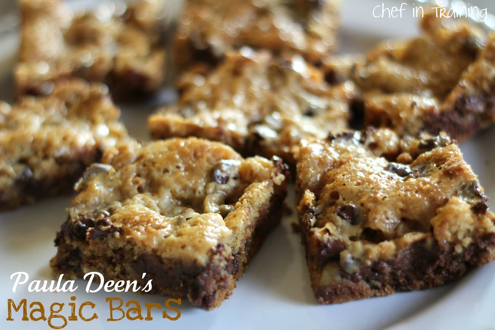 Paula Deen German Chocolate Cake Bars
