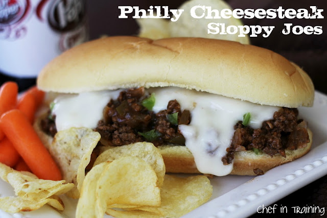 Philly Cheesesteak Sloppy Joes