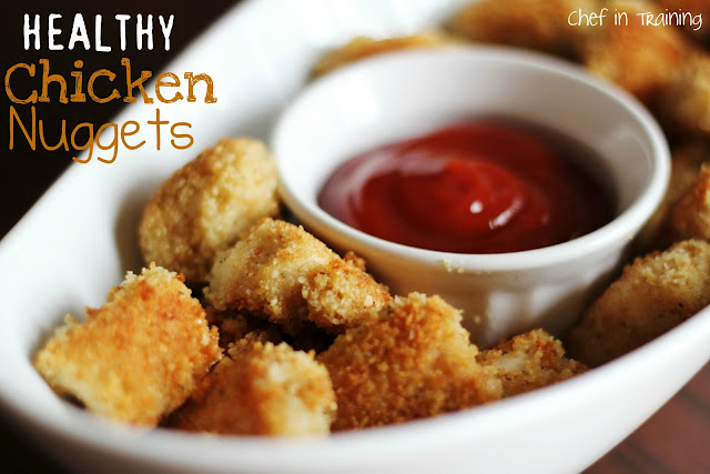 HEALTHY Baked Chicken Nuggets