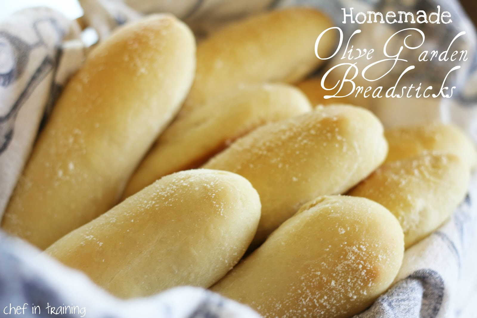 Olive Garden Breadsticks | Chef in Training