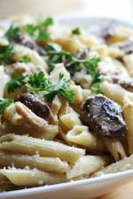 Creamy Chicken Marsala Pasta