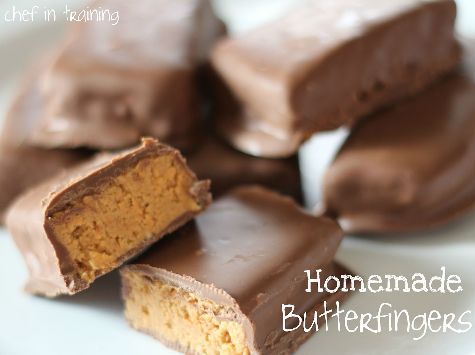 Homemade Butterfingers - Chef in Training