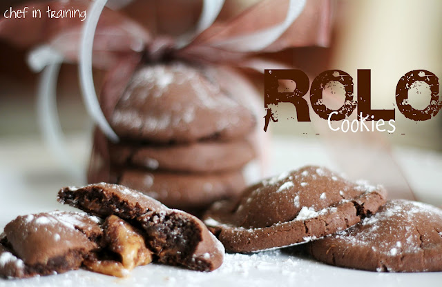 Rolo Cookies