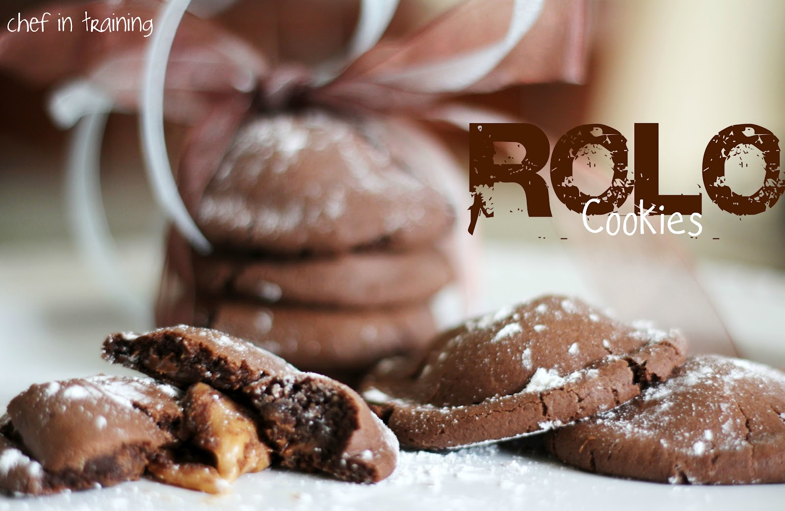 Rolo Cookies - Chef in Training
