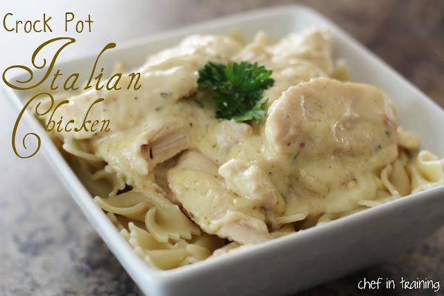 Crock Pot Italian Chicken | Chef in Training