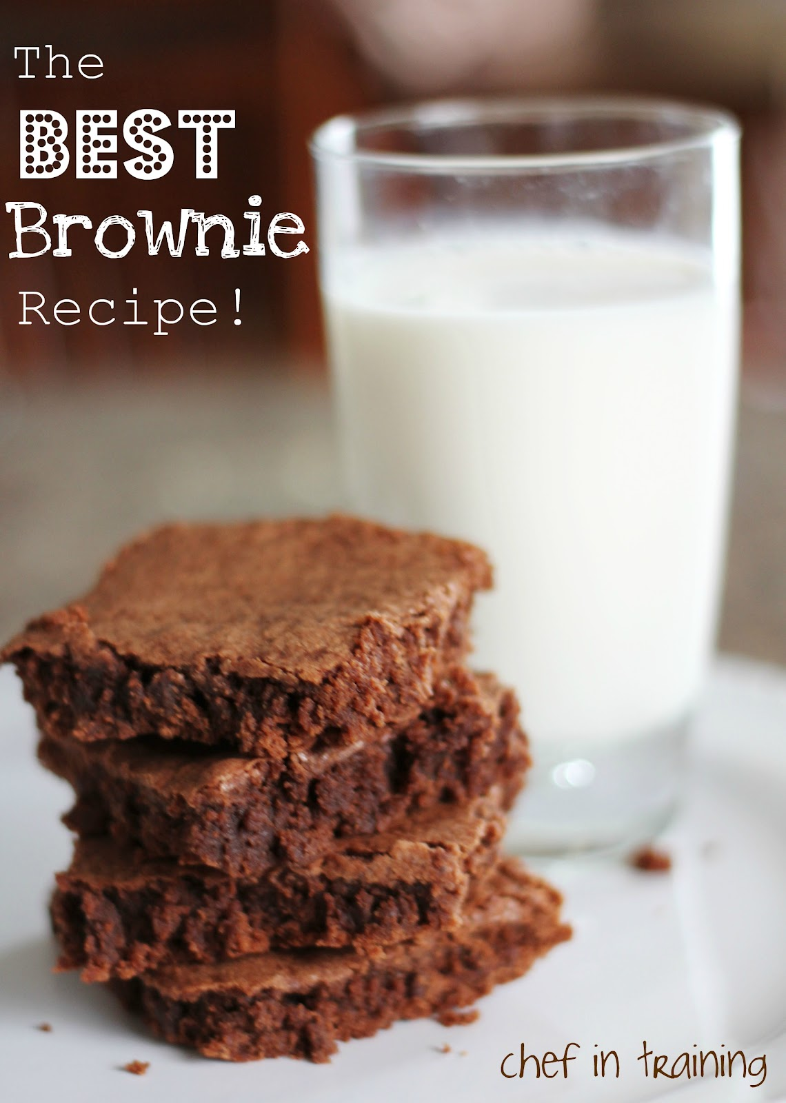 The BEST Brownie Recipe Chef in Training