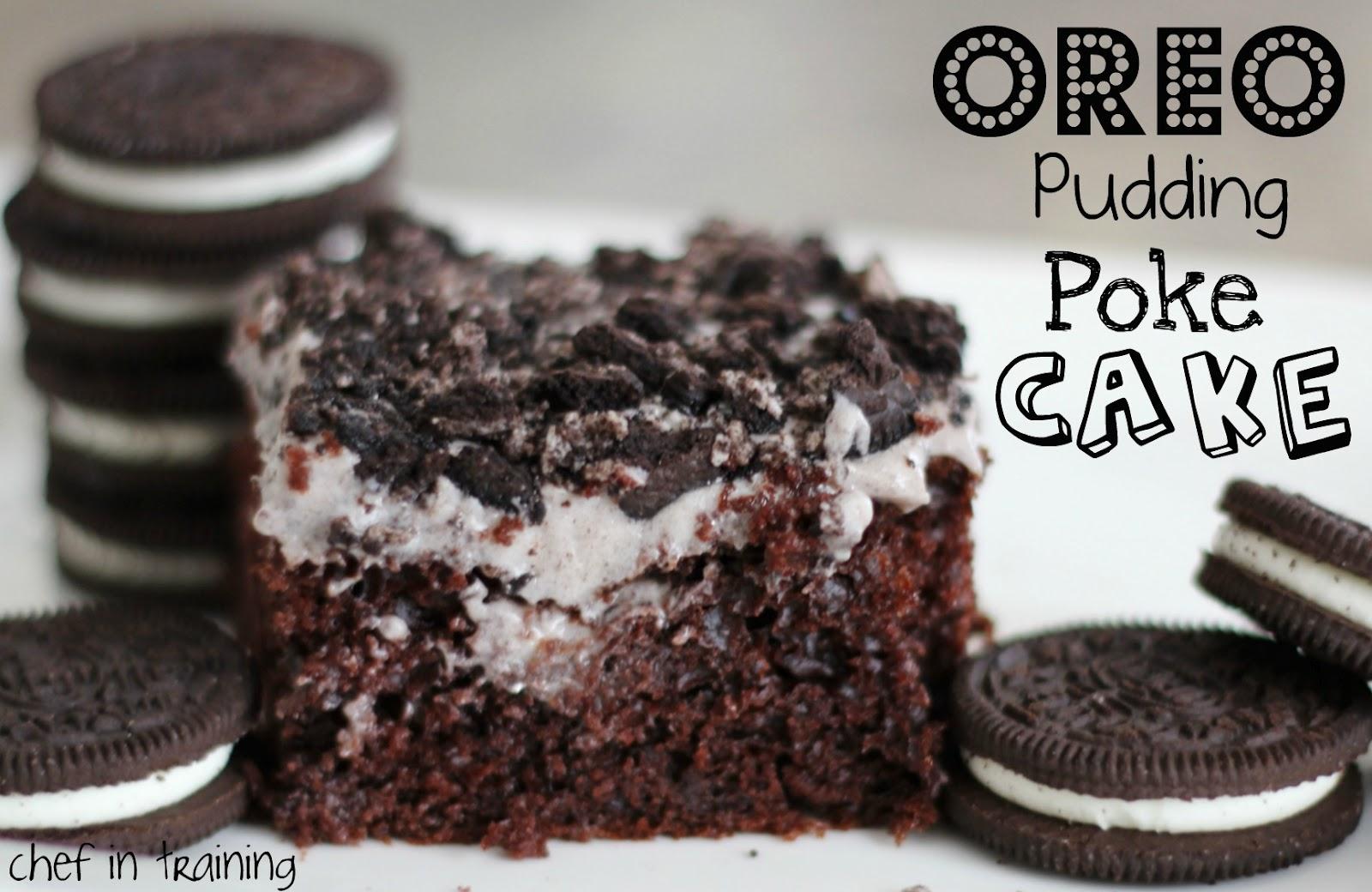 Jello Pudding Poke Cake Oreo Pudding Poke Cake