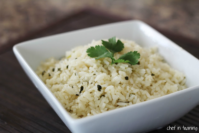 Cafe Rio's Lime Cilantro Rice