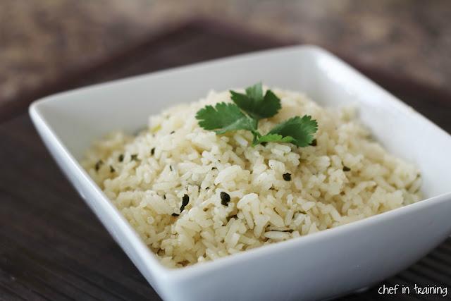 Cafe Rio's Lime Cilantro Rice