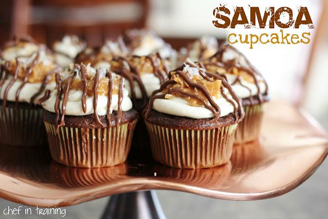 Samoa Cupcakes