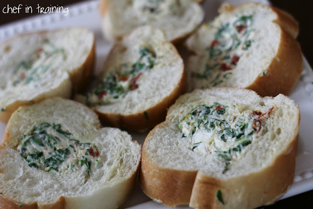 Spinach and Sun Dried Tomato Dip