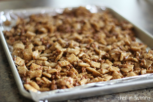 Better than Sex Chex Mix - Chef in Training