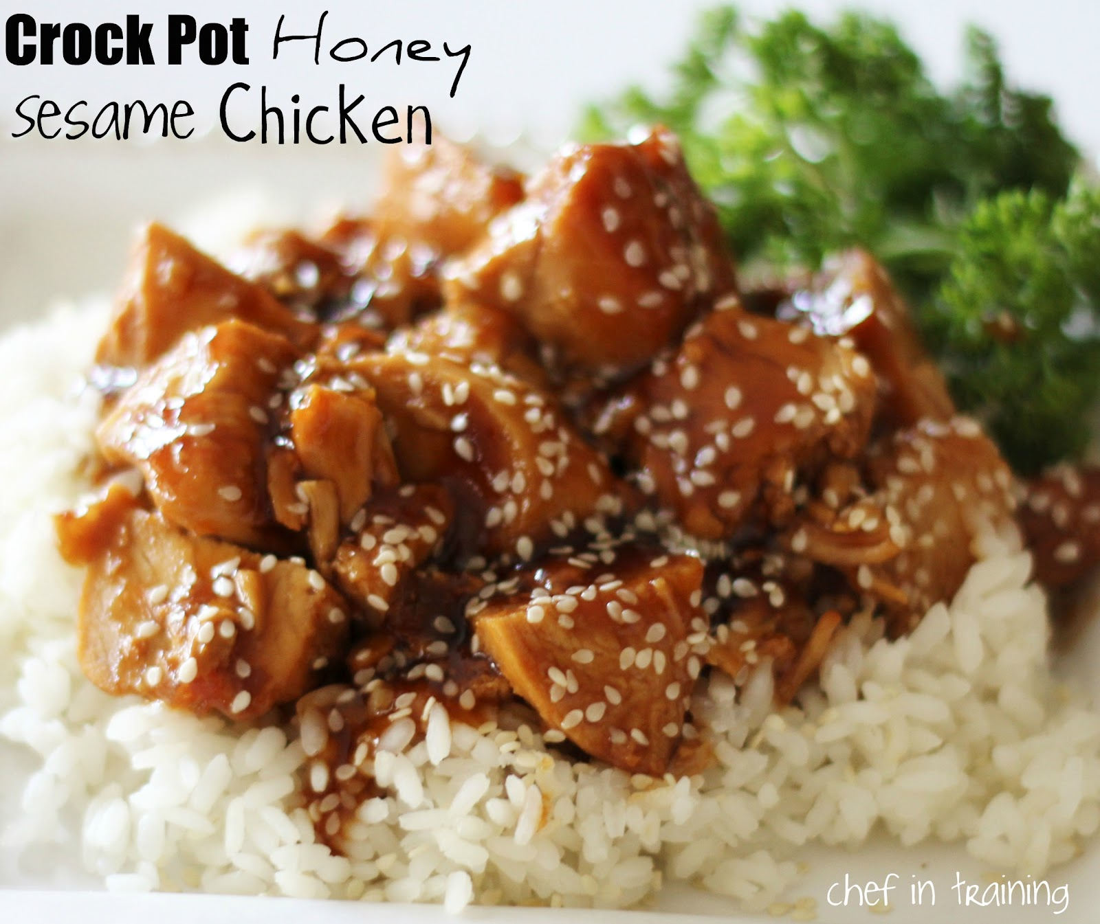 Crock Pot Honey Sesame Chicken Chef In Training