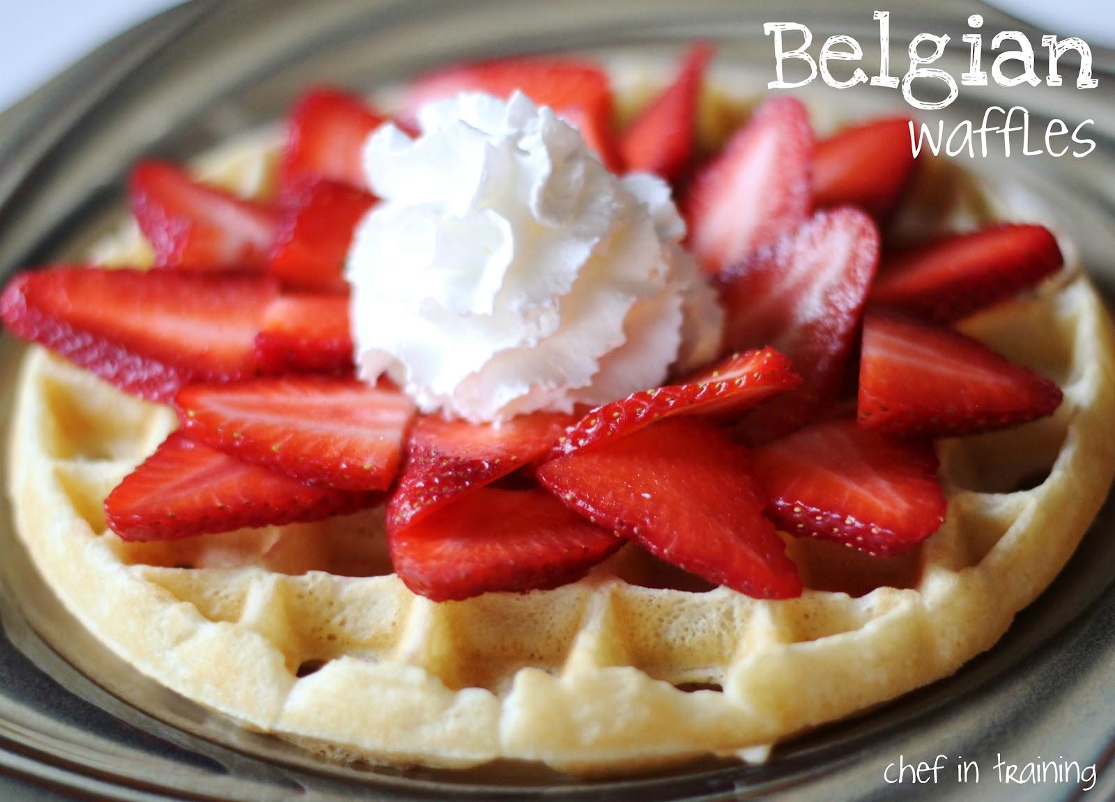 Belgian waffles chef in training belgian waffles forumfinder Images