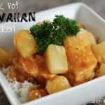 Crock Pot Hawaiian Chicken {Freezer Meal}