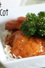 Crock Pot Sweet Apricot Chicken
