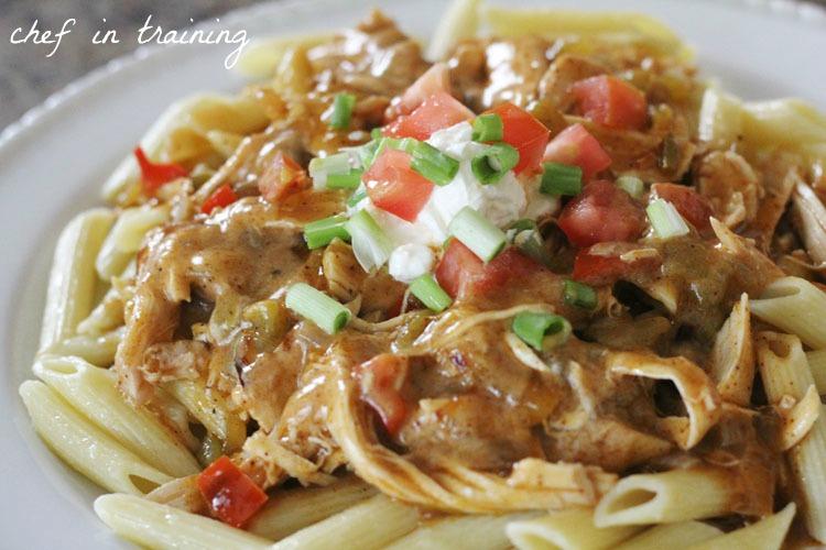 Chicken Enchilada Pasta Chef In Training