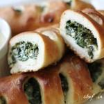Spinach Stromboli