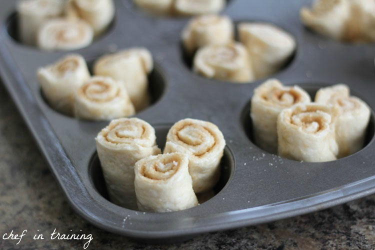 Cinnamon Roll Muffins | Chef in Training