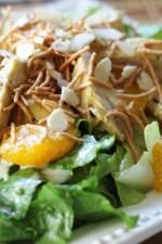 Oriental Chicken Salad and Dressing