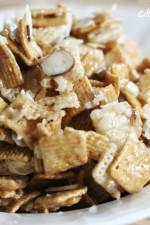 Ooey Gooey Cereal Snack Mix