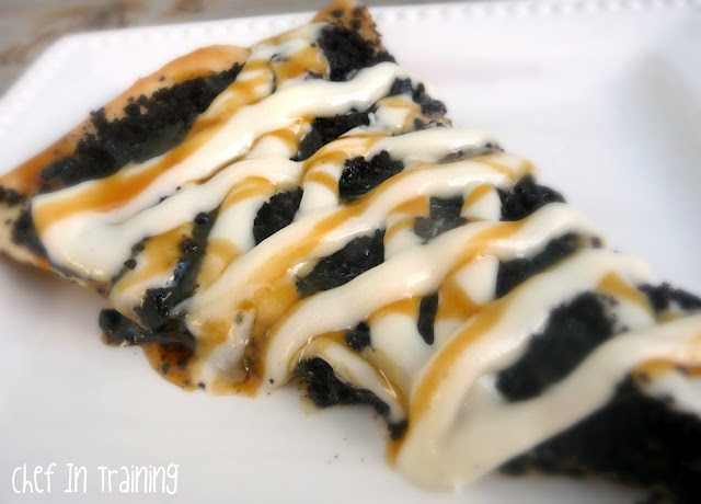 Pizza Pie Cafe Inspired Dessert Pizzas: Oreo and Cookie Dough