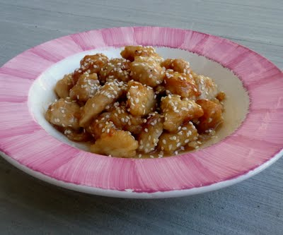 Chinese Honey Chicken