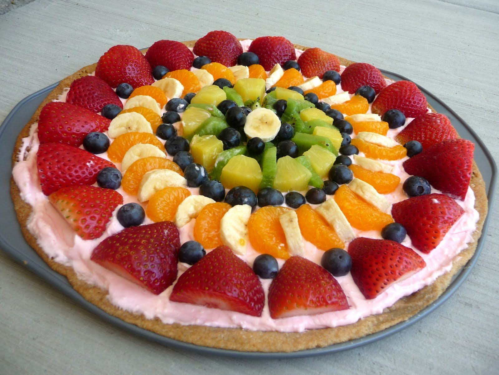 Fruit Pizza - Chef in Training