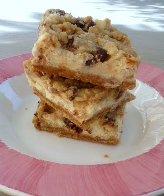 Cookie Dough Cheesecake Bars - Chef in Training