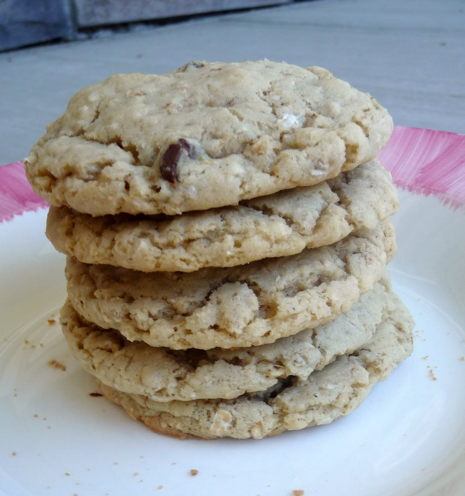 whole wheat chocolate chip oatmeal cookies1 ¼ cups brown sugar1
