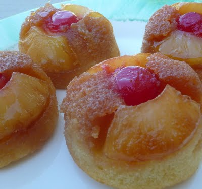 Pineapple Upside-down Cupcakes