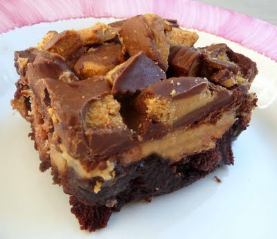 Reese's Cheesecake Brownies - Chef in Training