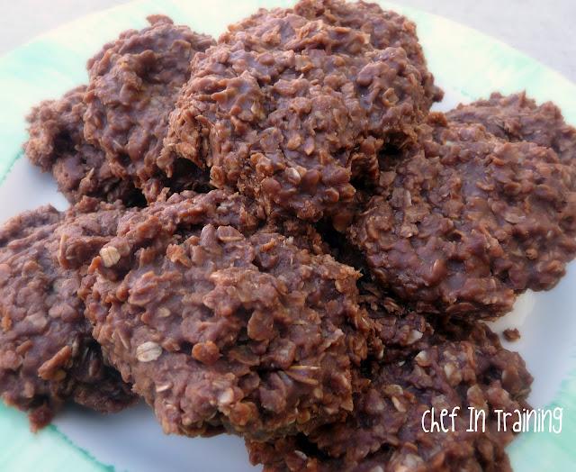 No Bake Cookies...AKA Gorilla Poops - Chef in Training