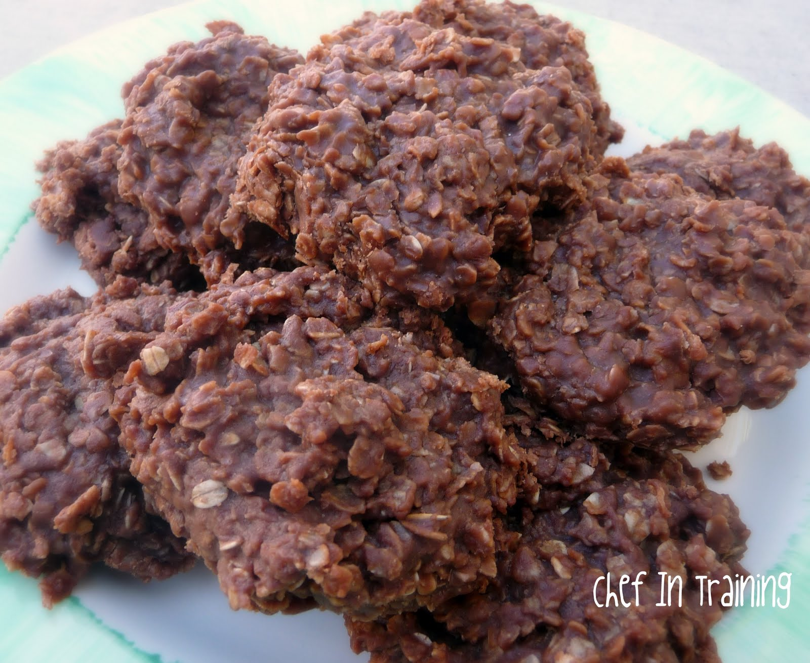 No Bake Cookies...AKA Gorilla Poops - Chef in Training