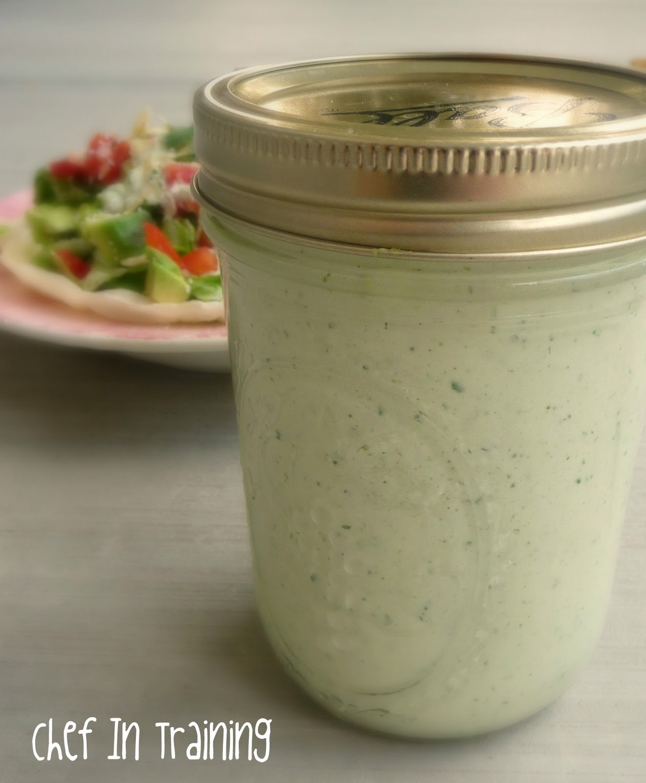 Cafe Rio's Creamy Tomatillo Dressing - Chef in Training