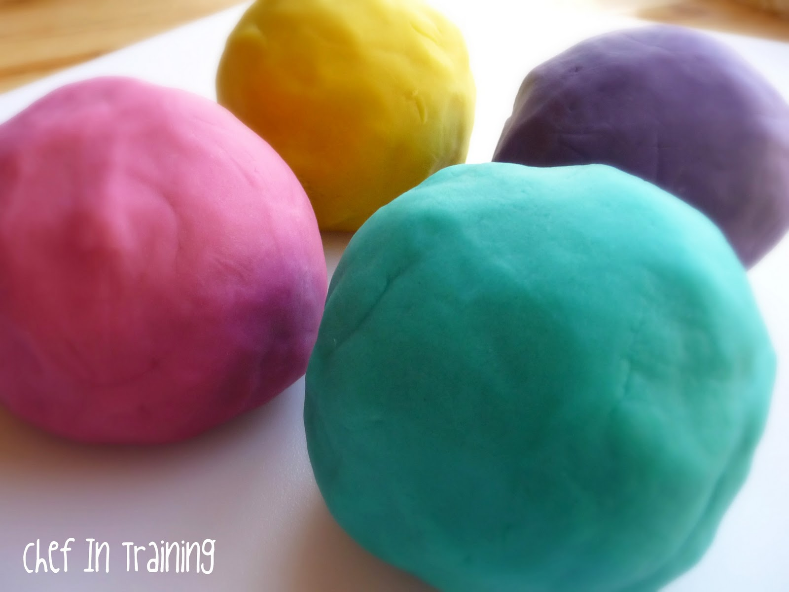 Squishy Ball Play Doh : The Softest and Squishiest Homemade Playdough - Chef in Training