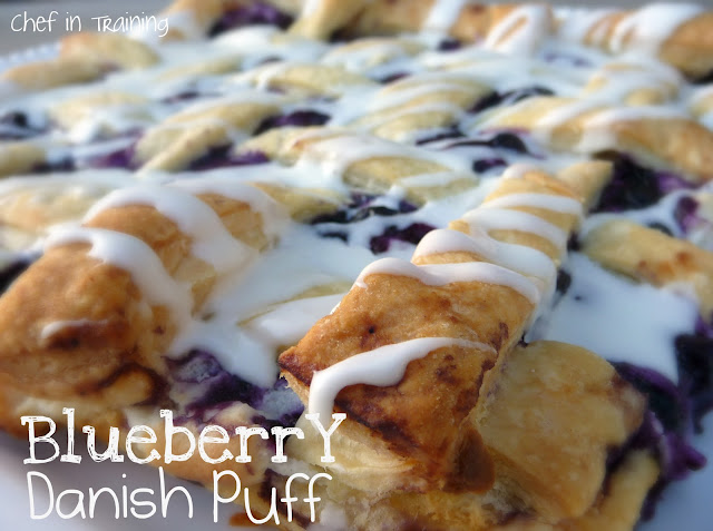 Blueberry Danish Puff