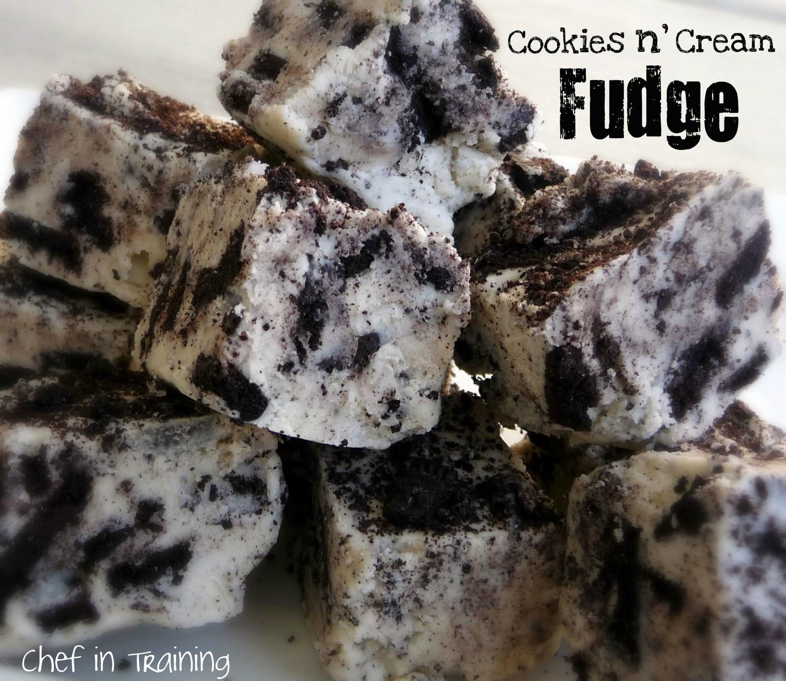 Cookies N Cream Fudge Chef In Training