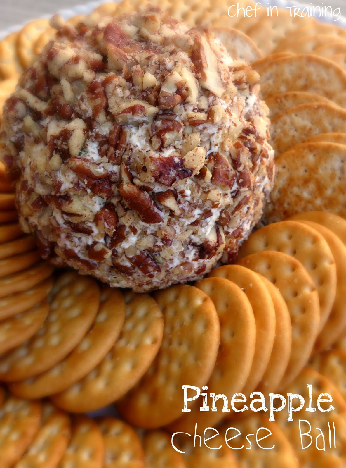 Chef in Training: Pineapple Cheese Ball