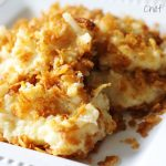 Cheesy Potato Casserole from chef-in-training.com …This recipe is so easy and one of my favorite side dishes!